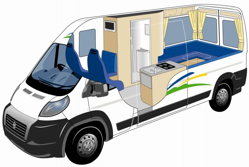 Alpha 2+1 berth - 2/3 Berth With Shower/Toilet - New Zealand Motorhomes