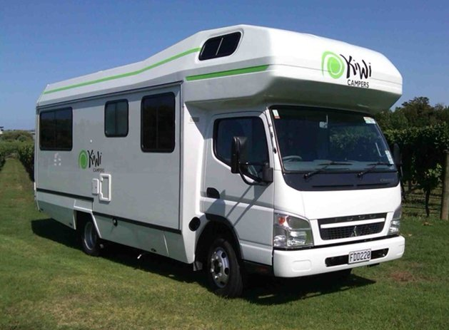 Kiwi 7 6 7 Berth Motorhome New Zealand Motorhomes