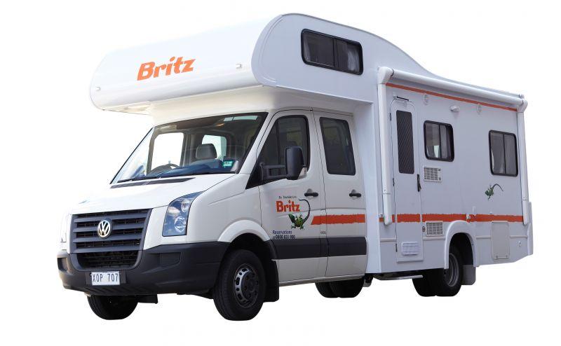 Britz Renegade 6 Berth Flex Rates 6 7 Berth Motorhome New Zealand Motorhomes