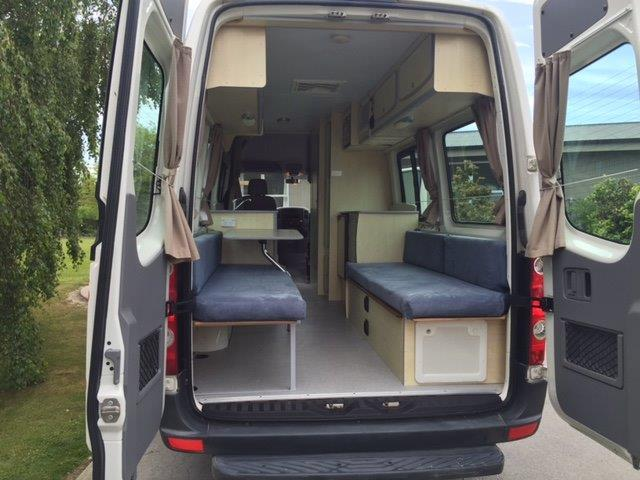 g j campers 2 berth vw crafter 2 berth campervan with. Black Bedroom Furniture Sets. Home Design Ideas