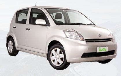 Jucy Car Juce Box Daihatsu Sirion Cars New Zealand