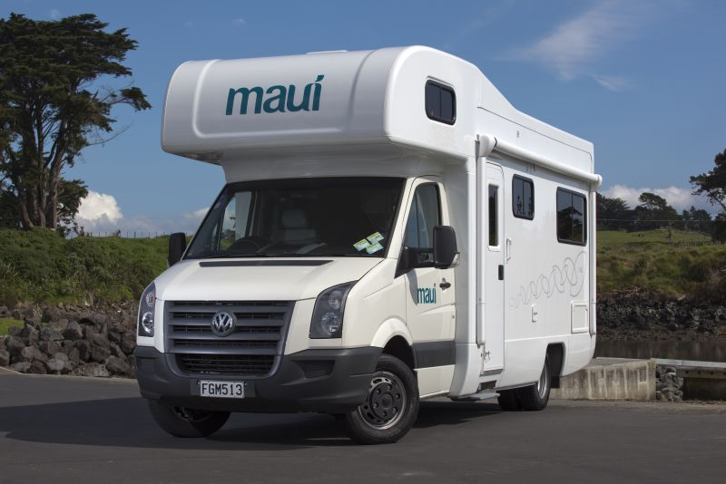 Maui Platinum Beach 4 Berth New Zealand Motorhomes