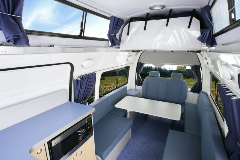 Britz Voyager 4 Berth With Free Days New Zealand