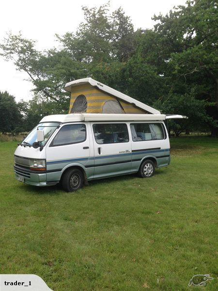 Sweet As 3 Berth 7 Seat Pop UP Top Wind Out Awning