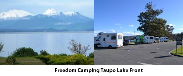 Taupo Is The North Island Equivalent To Queenstown But Unlike Freedom Camping Very Accessible And Easy Find You Could Choose Park On