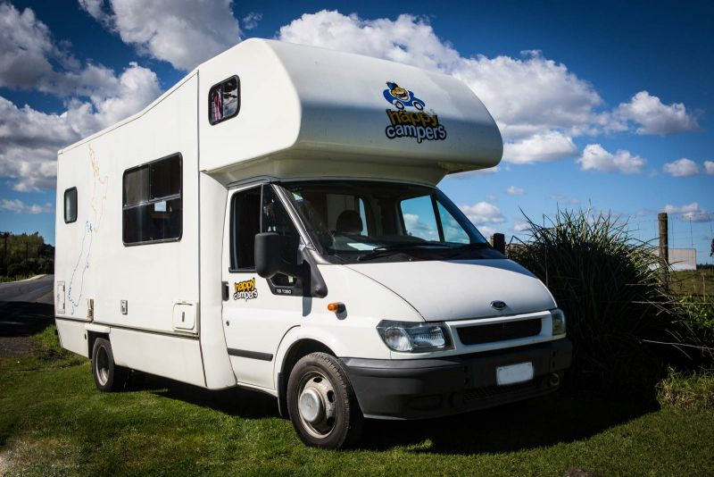 Happy Camper 4 Berth 4 5 Berth Motorhome New Zealand