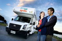 Apollo Euro Deluxe 6 Berth  (PRE CHRISTMAS 2016 SPECIAL - Christchurch to Auckland)