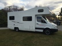 Kia 2013 Mercedes 4 Berth