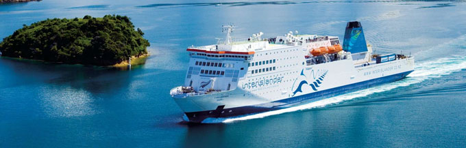 Cook Strait Ferry Crossing Information New Zealand