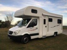 G & J Campers 6 Berth Mercedes PREMIUM