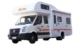 Britz Renegade 6 berth NZ OR AUS LICENCE HOLDERS ONLY